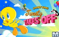 Looney Tunes Tweety Takes off