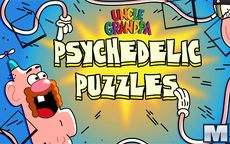 Uncle Grandpa Psychedelic Puzzles