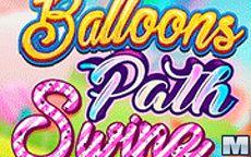Balloons Bath Swipe
