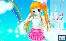 Candy Colors Castle Dress Up