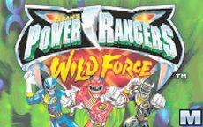 Powe Rangers Wild Force