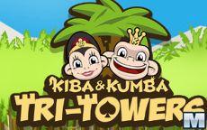 Kiba & Kumba Tri-Towers Solitaire