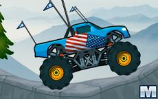 Monster Truck Mountain Climb