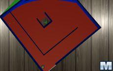 3D Flat Maze
