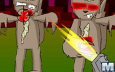Zombie Squirrel Attack