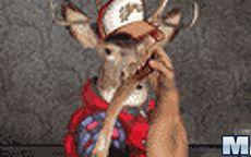 Reindeer Arm Wrestling