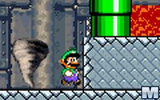 Mario Bros - Luigi: Castle On Fire
