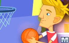 Bailando en el baloncesto