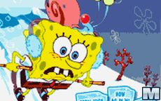 Spongebob Avalanche At Plankton 's Peak