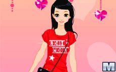 Viste a la chica para San Valentín