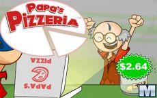 Papa's Pizzeria el cocinero ideal