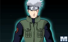 Naruto Dressing Up Kakashi