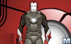 Juego de vestir a Iron Man - El hombre de hierro