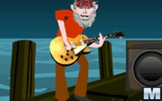 Jugar a tocar la guitarra con Mr Mucky Guitar Legend
