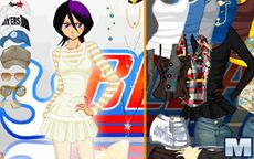 Vestir a Rukia de Bleach