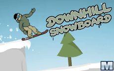 Downhill Snowboard