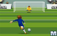 Super estrella del fútbol mundial