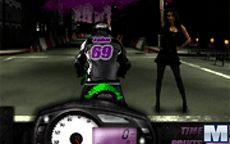 Te reto a una carrera de motos ninja