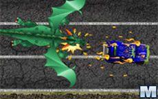 Hot Wheels Dragon Fire Scorched Pursuit
